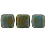 CzechMates Tiles 50 pack Bronze Picasso Turquoise BT6313