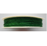 0.5mm Cotton Cord  green. Price per 25 metres