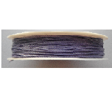 0.5mm Cotton Cord in lilac. Price per 25 metres