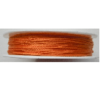 0.5mm Cotton Cord in orange. Price per 25 metres