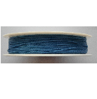 0.5mm  Cotton Cord in light blue. Price per 25 metres