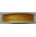 0.5mm  Cotton Cord in yellow. Price per 25 metres