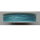 0.5mm Cotton Cord in turquoise Price per 25 metres