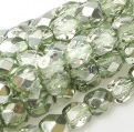 50 pack 3 mm Fire Polished Crystal Sea Foam Met Ice 00030 67525