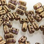 10 grams Rulla Beads Crystal Senegal Brown Violet 00030 15695