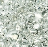 50 pack 4mm Button Beads Crystal Labrador Full 00030 27000