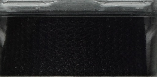 A 1 metre length of 15 mm wide 1000 Series WireKnitZ Black