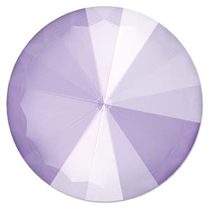 14 mm Swarovski Rivoli Crystal Lilac Unfoiled