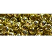 10g TOHO size 15 Perm Finish Galvanised Yellow Gold TR-15-PF559