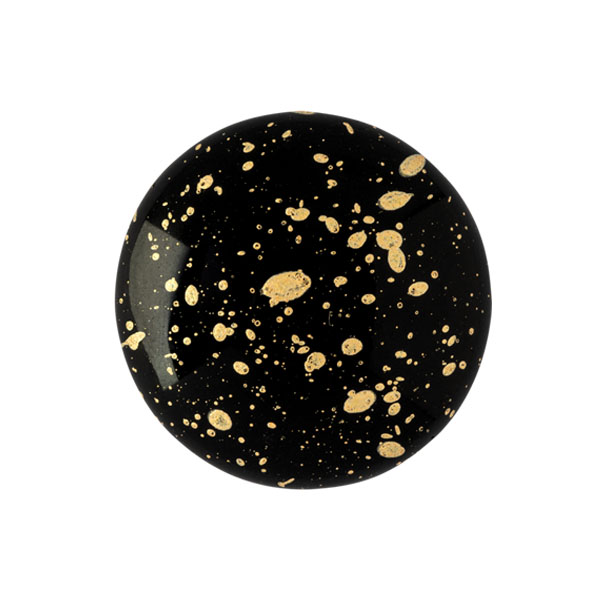 18mm Cabochon par Puca Jet Splash 23980 94401