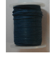 1mm Cotton Cord in black. Price per 10 metres