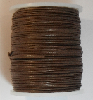 1mm Cotton Cord in brown. Price per 10 metres