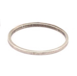 20x1mm antique silver coloured brass Circle Link
