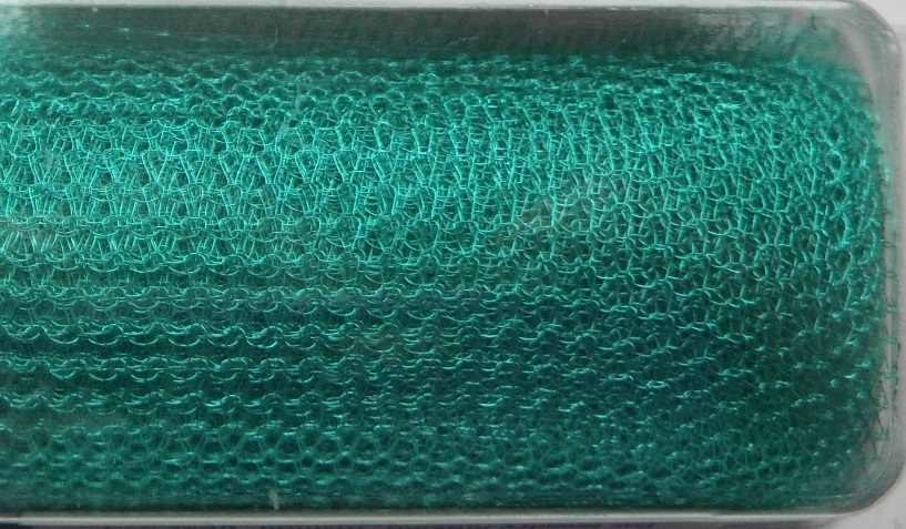 A 1 metre length of 2000 Series WireKnitZ Turquoise