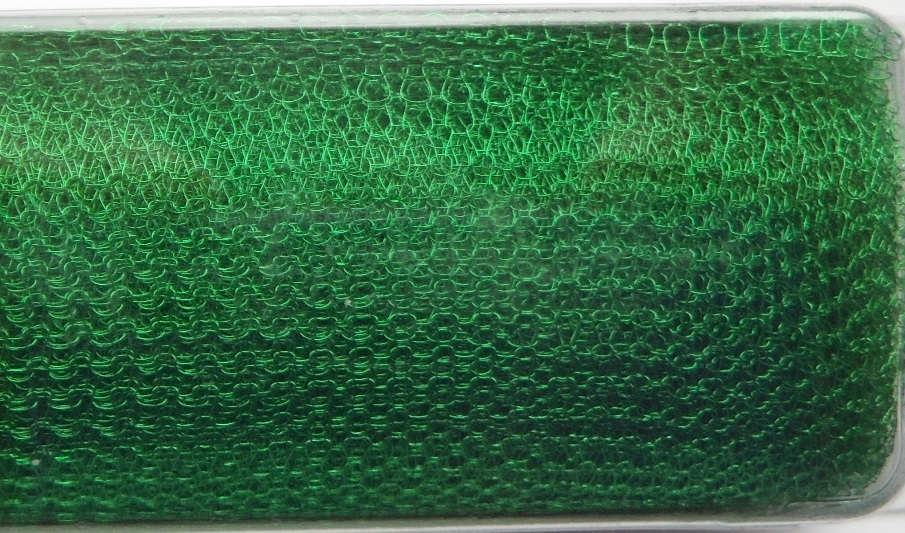 A 1 metre length of 2000 Series WireKnitZ Lime