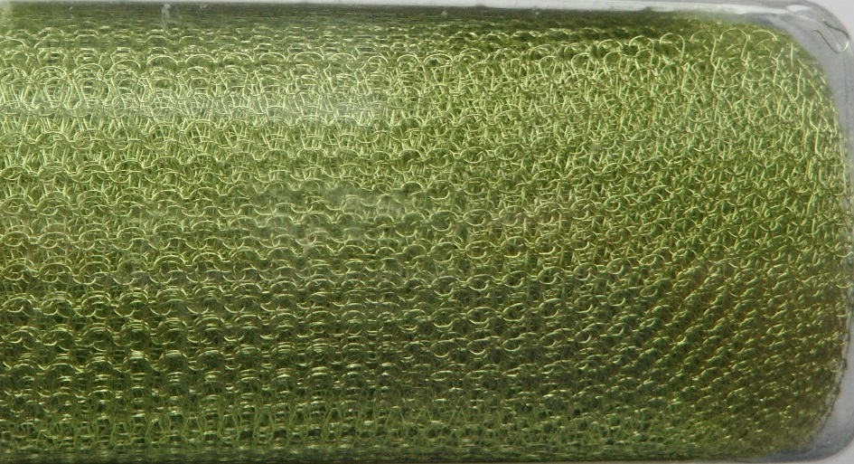 A 1 metre length of 2000 Series WireKnitZ Chartreuse