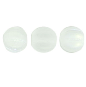 50 pack 5mm Czech Glass Melons Matte Crystal AB MX0003
