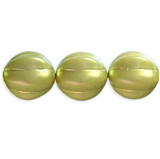 8 pack 14mm Czech Glass Melons ColorTrends Canopy P79208