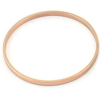 30x0.8x2mm rose gold plated Circle Link