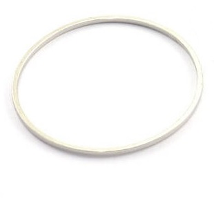 30x1mm silver colour Circle Link