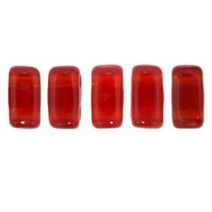 CzechMates Bricks 50 pack Siam Ruby 9008