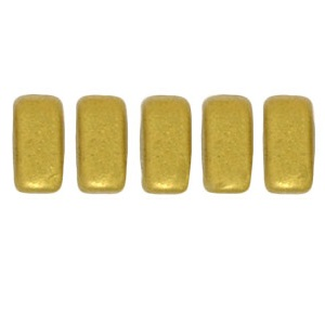 CzechMates Bricks 50 pack Matte Metallic Aztec Gold K0172