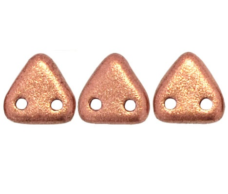 CzechMates Triangles 10 grams Matte Metallic Copper K0177