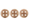 Czechmates QuadraLentils 10g Matte Metallic Bronze Copper  K0178