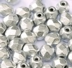 50 pack 4 mm Fire Polished Crystal Bronze Aluminium 00030 01700