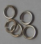 6mm Heavyweight Sterling Silver Jump Rings 10 pack