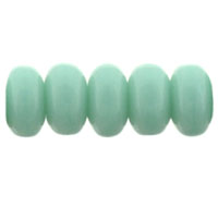 100 pack 3mm Czech glass Rondelles Turquoise 6313