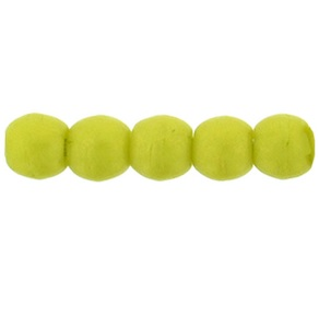100 Czech 2mm round glass beads Pacifica Honeydew PS1010