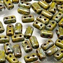 10 grams Rulla Beads Opaque Green Picasso 53410 43400