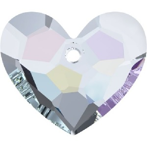 18mm 6264 Truly in Love Heart Crystal AB