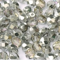 25 pack 6 mm Fire Polished Crystal Vitrail Light 00030 26536