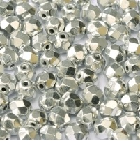 25 pack 6 mm Fire Polished Crystal Labrador Full 00030 27000