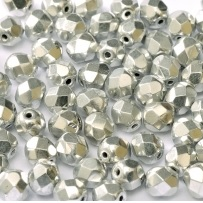 25 pack 6 mm Fire Polished Jet Labrador Full 23980 27000