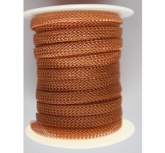 8 needle 4.8mm flat   Copper.  Price per 10cm