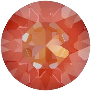 SS39 8.3mm Swarovski Chaton Crystal Orange Glow Delite 6 pack