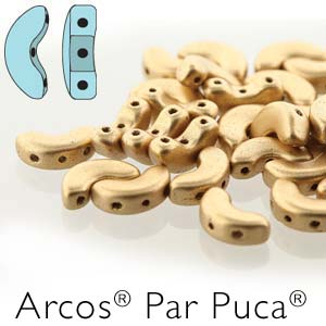10 grams Arcos Par Puca Crystal Bronze Pale Gold 00030 01710