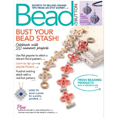 Bead and Button Magazine August 2020