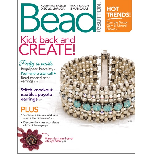Bead and Button Magazine June 17