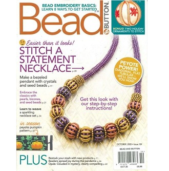 Bead and Button Magazine October 2020