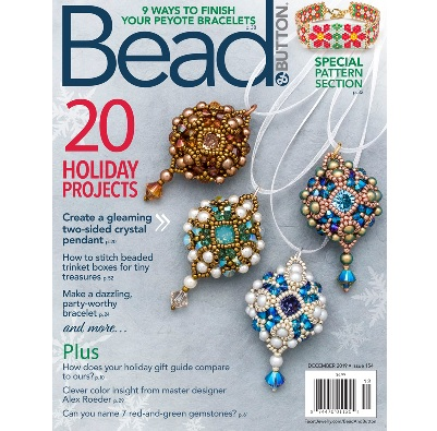 Bead and Button Magazine December 2019