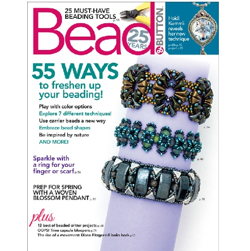 Bead and Button Magazine February 2019