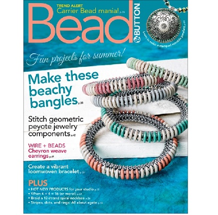 Bead and Button Magazine June 2018