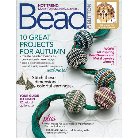Bead and Button Magazine October 2018