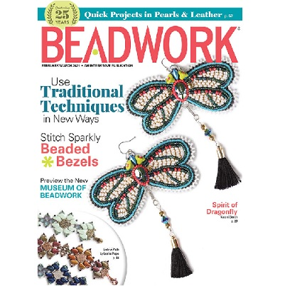 Beadwork Magazine February/March 21
