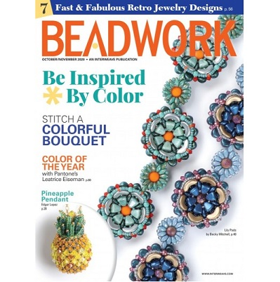 Beadwork Magazine October/November 20