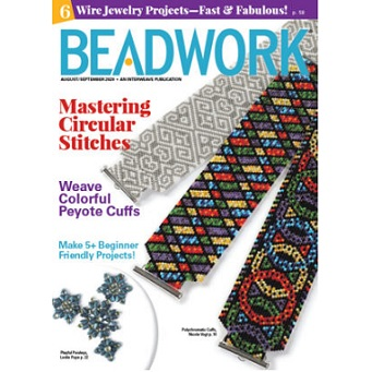 Beadwork Magazine August/September 20